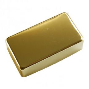 HUMBUCKER PICKUP COVER CLOSED GOLD